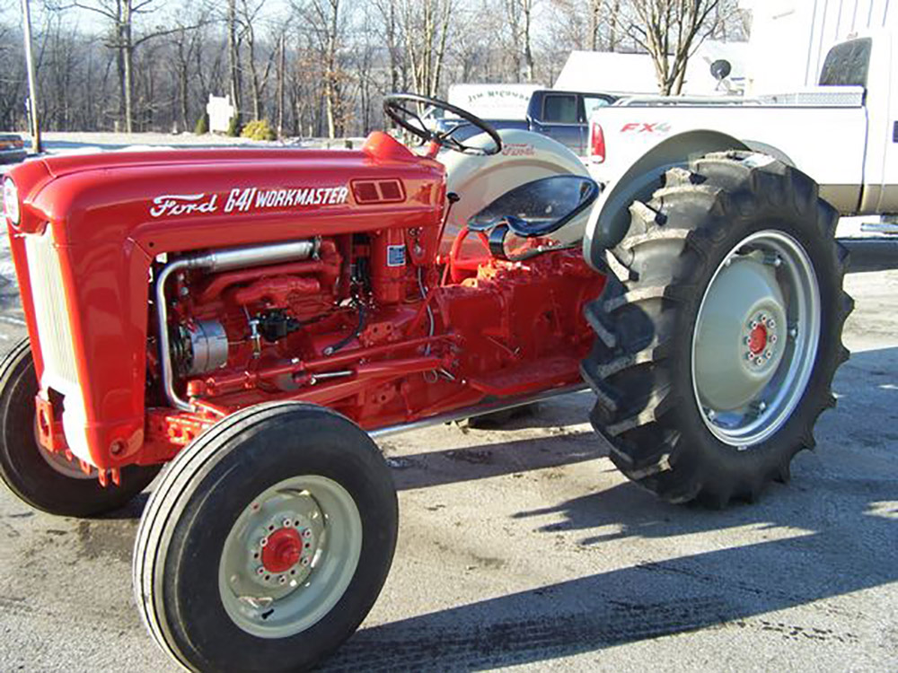 Ford Workmaster 601 Tractor Horsepower : Ford workmaster photos arthurs tractors