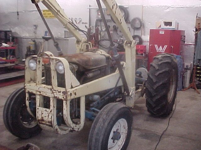 1962 ford industrial tractor