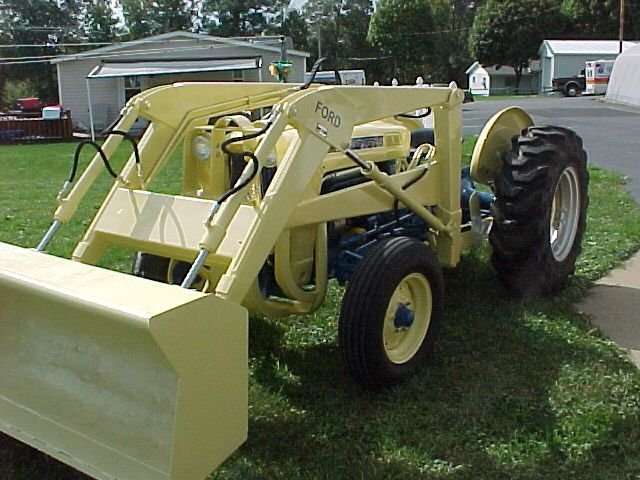 1963 Ford 2000 Tractor : Ford industrial arthurs tractors