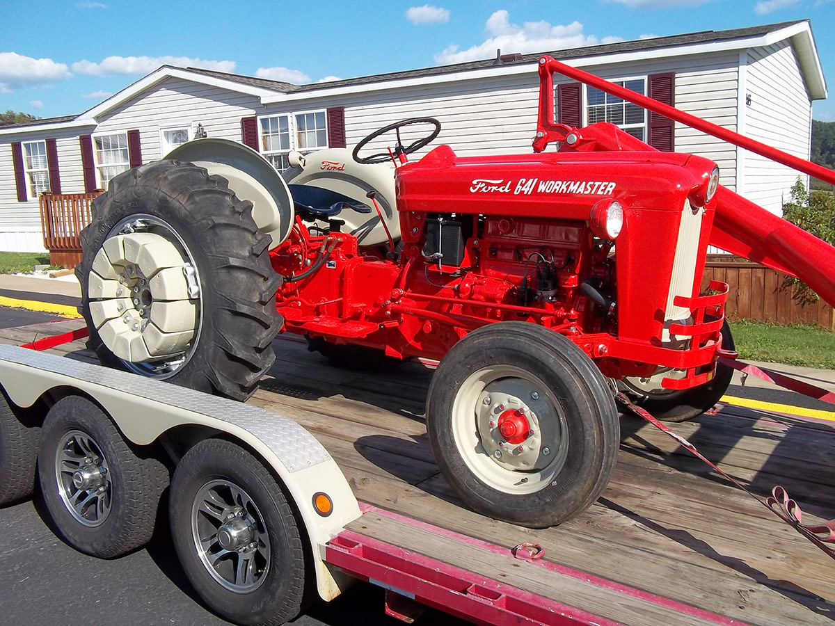 Ford 641 Workmaster Tractor : Ford photos arthurs tractors