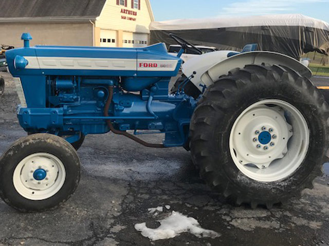 Ford 901 Diesel Tractor : For sale arthurs tractors